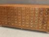 Vintage index filing cabinet