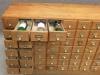 vintage wine case unit