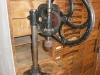 vintage pine cupboard workstation