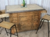rustic farmhouse work bench