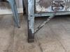 wood top metal industrial sideboard