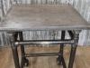 poseur table industrial