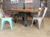 industrial vintage table