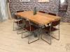 cast iron base table