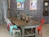 large restaurant table