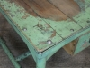 industrial table green