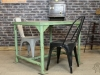 green factory table