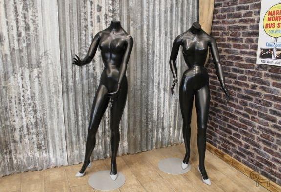 Vintage Shop Mannequins Display Models