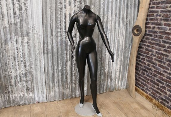 vintage shop mannequin