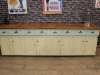 oak and pine sideboard