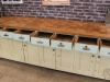 pine and oak sideboard