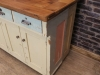 sideboard pine and oak