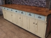 sideboard pine oak drawers