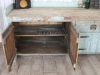 antique pine workbench