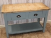 bleached top sideboard