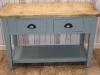 industrial pine sideboard