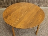 round ercol table
