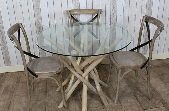 Driftwood Gl Dining Table - Dining Table Ideas
