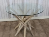 rustic driftwood table natural