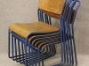 authentic steel stacking chairs