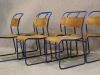 original steel stacking chairs