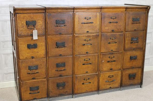 large-antique-filing-drawers