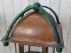 antique outside lamps pair