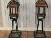 vintage arts crafts lamps