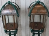 pair copper arts crafts lights