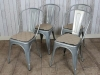 galvanised tolix chairs