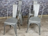 tolix galvanised chairs
