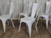 tolix metal stacking chairs