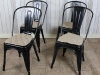 vintage style tolix chairs