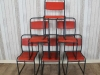 funky stacking chairs