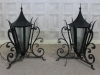 wrought iron lanterns