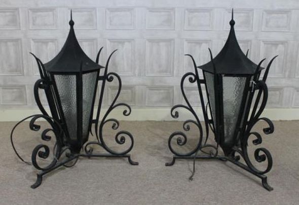 wrought-iron-lanterns