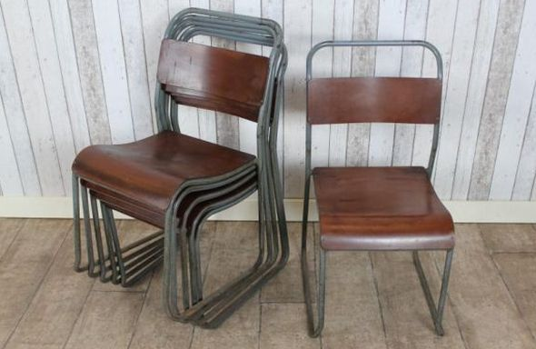 Original pel stacking chairs