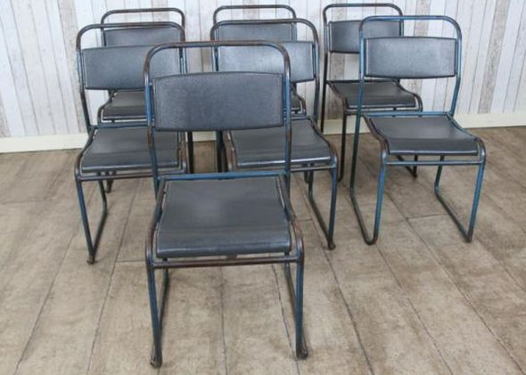 set-of-vintage-stacking-chairs