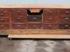 vintage haberdashery display counter
