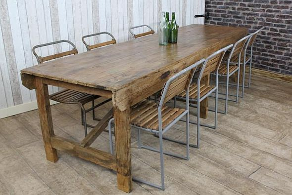 old-pine-trestle-table