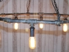 hexagonal pipe light fitting