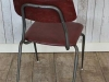 vintage retro stacking chair industrial