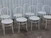 shabby chic bentwood chairs