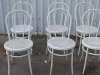 white cross back bentwood chairs