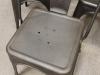 iron metal industrial seating