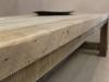 chunky oak table