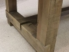 square leg oak table