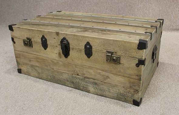 reclaimed pine trunk