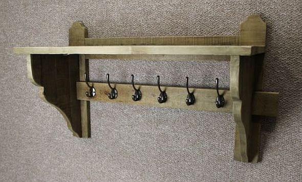 reclaimed coat rack