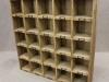 reclaimed pine industrial pigeon holes